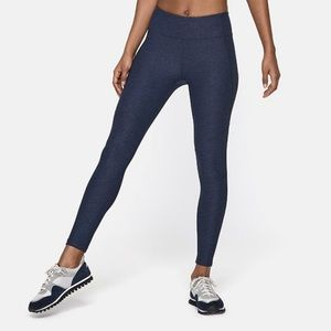 Outdoor Voices 7/8 Warmup Leggings in Navy